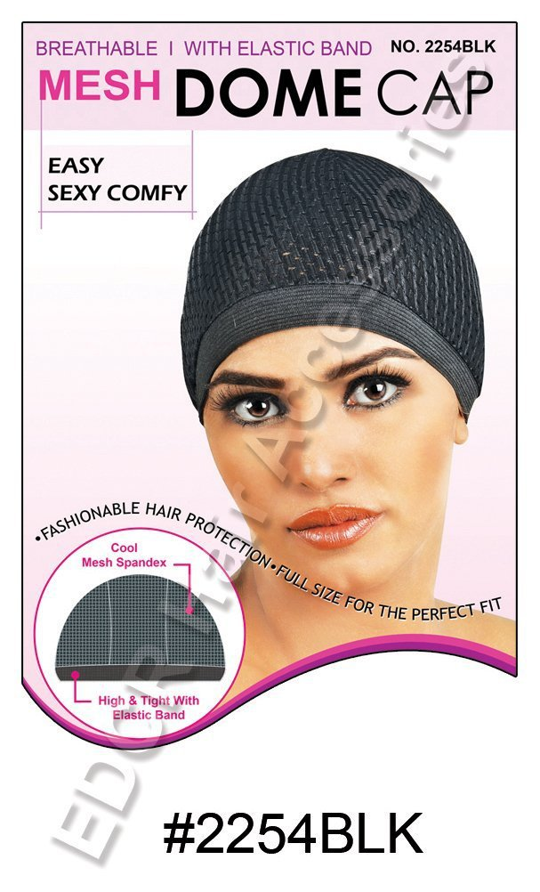 Murry Collection Mesh Dome Cap-2254BLK