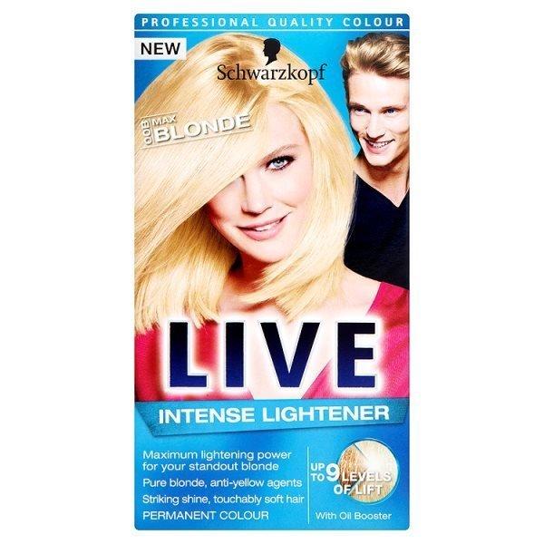 Schwarzkopf Live Intense Lightener 00B-Max Blonde