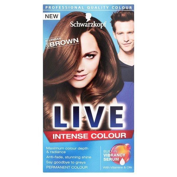 Schwarzkopf Live Intense Colour 088 Urban Brown