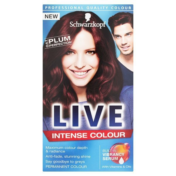 Schwarzkopf Live Intense Colour 047 Plum Perfection