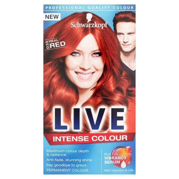 Schwarzkopf Live Intense Colour 035 Real Red