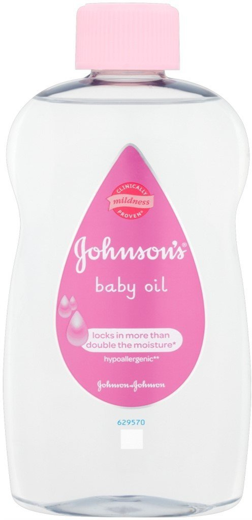 Johnson's Baby Oil Locks in More Than Double The Moisture
