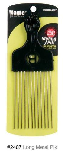 Magic Collection Styling Pik Long Metal Pik-2407