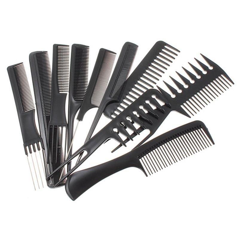 Professional Styling 10pcs Comb set-24260BLA