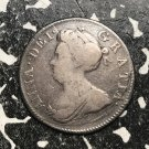 1706 Great Britain 4 Pence Fourpence Queen Anne Silver