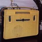Soviet radio Spidola 1960. The first transistor receiver USSR. Vintage radio.