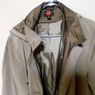 Gallery Womens Hooded Trench Coat, Size 1x