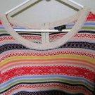 Talbots 3/4 Sleeve Nylon/Lambswool Sweater, Size X