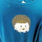 Talbots Long Sleeve Sweater, Hedgehog, Size XL