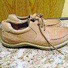 Ecco Leather Mens Walkingt Shoes, Size 10.5