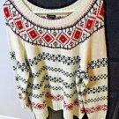 Talbots Sweater Nylon/Acrylic/Rayon/Wool Size XL