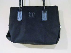 City DKNY Handback Black