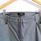 Talbots 97% Cotton/3% Spandex Slimming Pants, Size 18Long