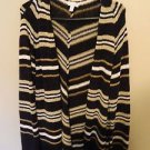 Charter Club Open Front Sweater, Size XL