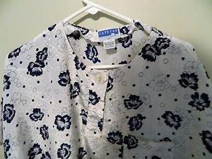 Cape Cod Sportswear Womans short sleeve Blouse, Size 20