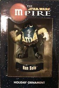 "The Star Wars mPire Han Solo M&M Holiday Ornament 3"""