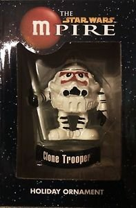 "Star Wars mPire Clone Trooper M&M Holiday Ornament 3"""