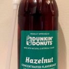 Dunkin Donuts Unsweetened Hazelnut Flavor Shot 30oz Bottle with Pump