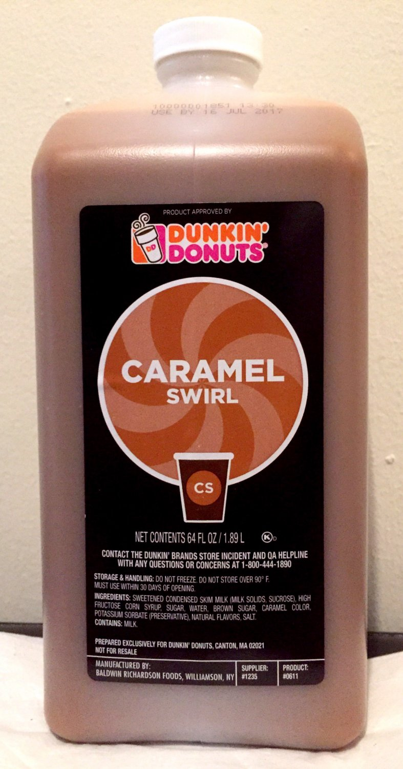 Dunkin Donuts Caramel Swirl No Pump See Description First