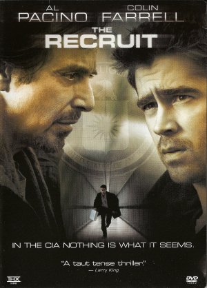 THE RECRUIT. AL PACINO AND COLIN FARRELL DVD