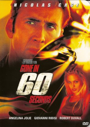 GONE IN 60 SECONDS. NICOLAS CAGE DVD