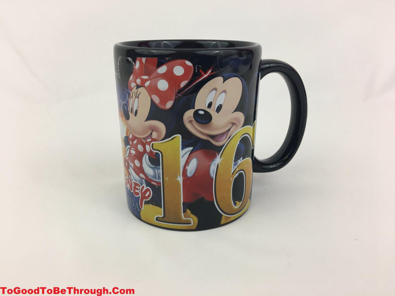 "Disney ""Florida"" 2016 Jerry Leigh  Mickey Minnie Pluto Donald Goofy Mug"
