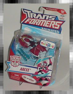 Transformers Animated Arcee made by Hasbro TRU Exclucive