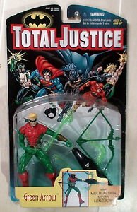 1997 Total Justice Green Arrow Kenner action Figure