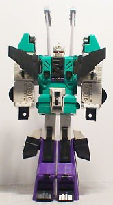 Transformers G1 Vintage Original Sixshot Beautiful Condition