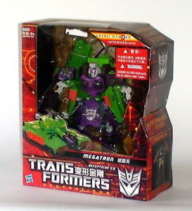 Transformers Generations Samurai Megatron Tank New in Box