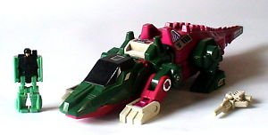 Transformers G1 Scull Cruncher and Grax Head Master loose Hasbro original