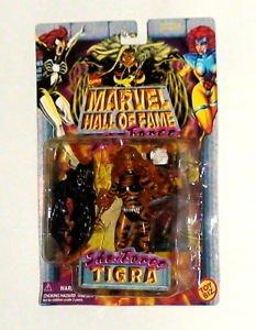 Tigra Marvel Super Hero Hall of Fame She Force action figure Toy Biz 1996