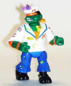Teenage Mutant Ninja Turtles Michaelangelo Sailor 90s era Playmates TMNT
