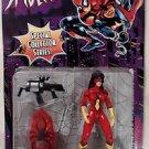 Spider Woman Black Widow Assault Gear Toy Biz 1996 Collector Series