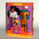 Disney Esmerada and Pheobus Doll Set from Hunchbak of Notre Dame Mattel NRFB