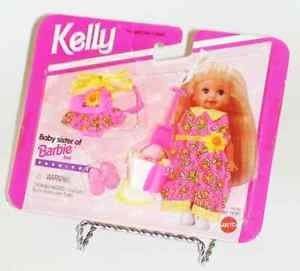 1995 Kelly Baby Sister of Barbie Sunflower Beach Clothing Set 14394 Mattel