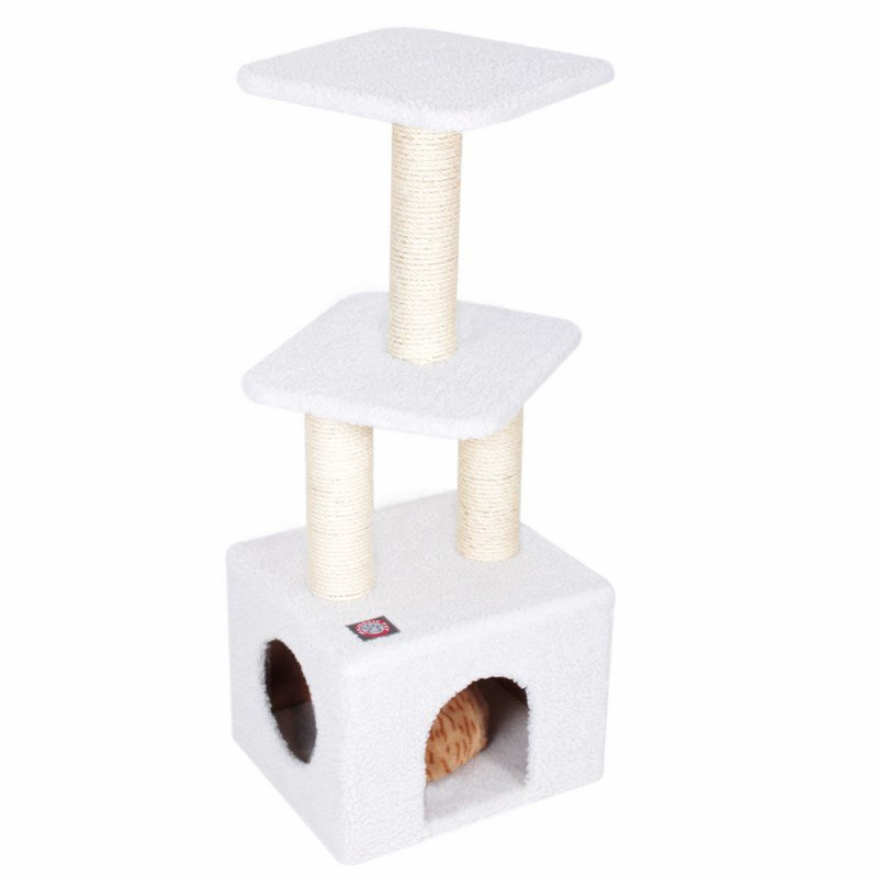 Majestic Pet Products 40 inches Bungalow Cat Tree