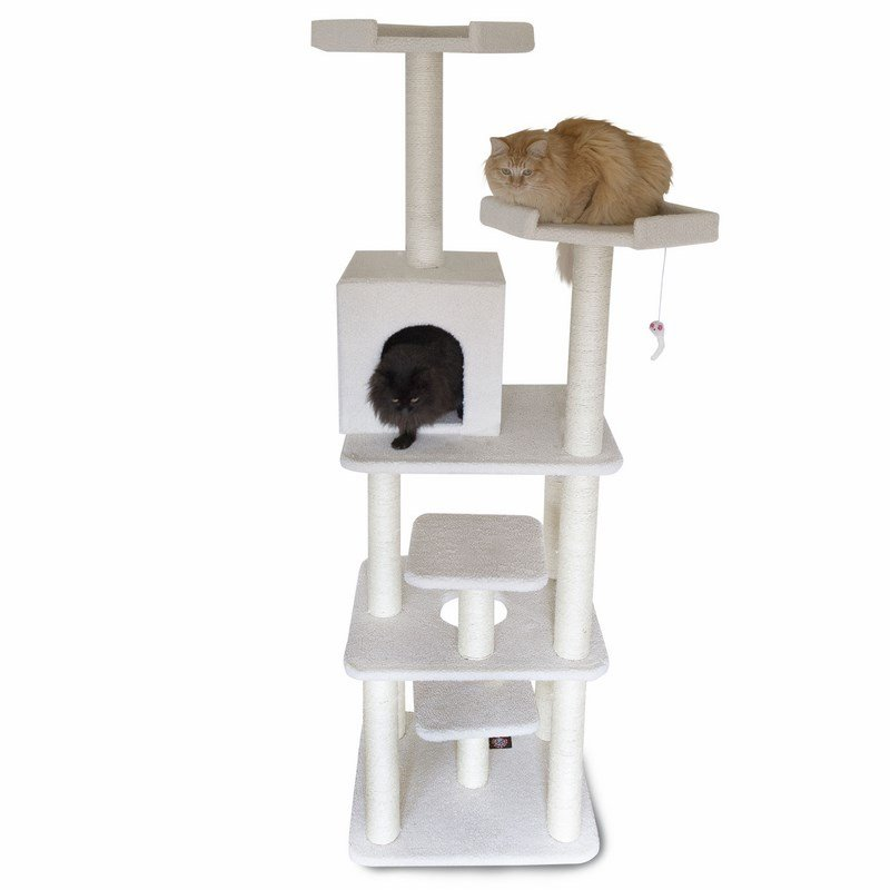 Majestic Pet Products 78 inches Bungalow Cat Tree