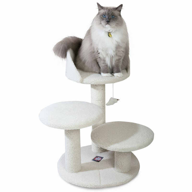 Majestic Pet Products 27 inches Bungalow Cat Tree