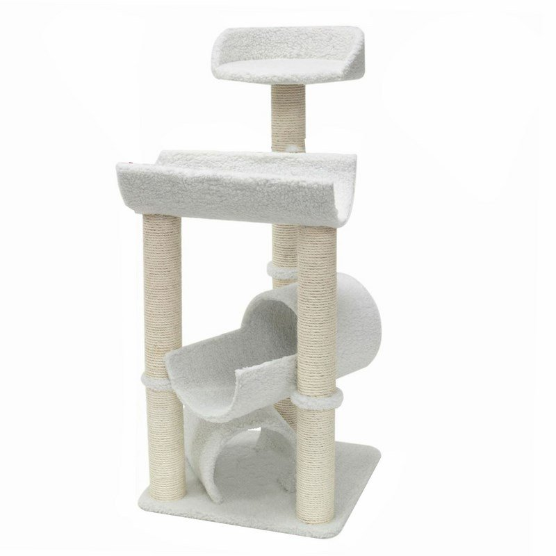 Majestic Pet Products 44 inches Bungalow Cat Tree