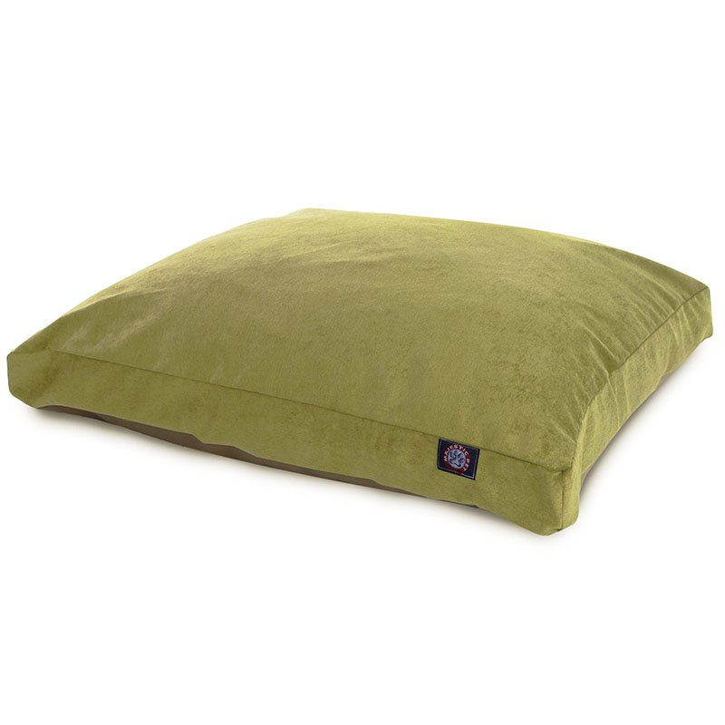Majestic Pet Products Apple Villa Collection Medium Rectangle Dog Bed