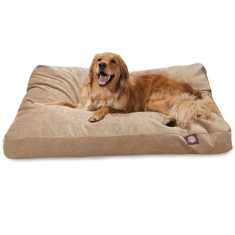 Majestic Pet Products Pearl Villa Collection Extra Large Rectangle Dog Bed