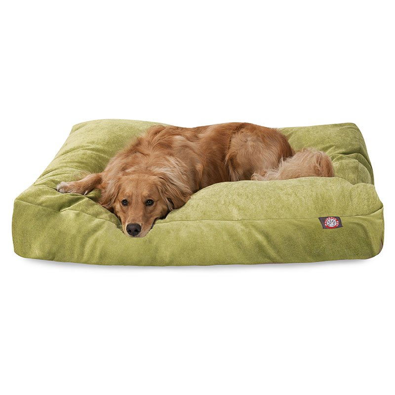 Majestic Pet Products Apple Villa Collection Extra Large Rectangle Dog Bed