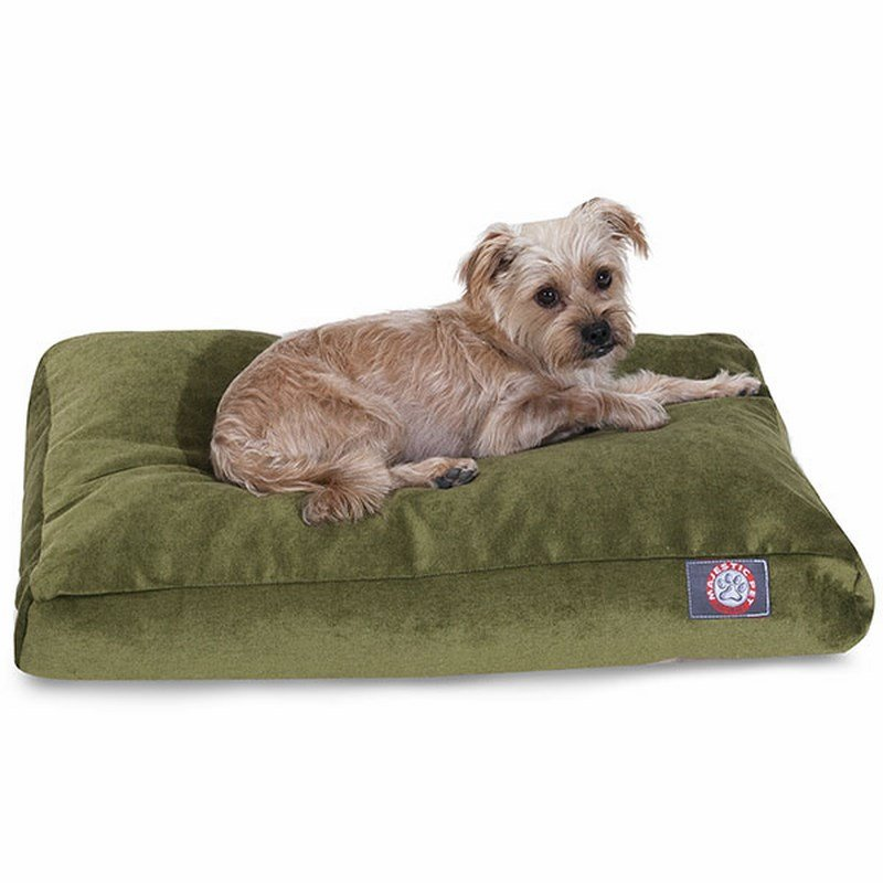 Majestic Pet Products Fern Villa Collection Small Rectangle Dog Bed