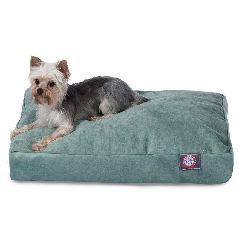 Majestic Pet Products Azure Villa Collection Small Rectangle Dog Bed