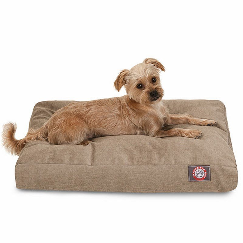 Majestic Pet Products Pearl Villa Collection Small Rectangle Dog Bed