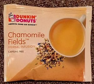 Dunkin Donuts Chamomile Fields Herbal Infusion Tea With 30 tea bags