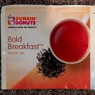 Dunkin Donuts Bold Breakfast Black Tea Box With 50 tea bags