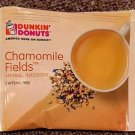 Dunkin Donuts Chamomile Fields Herbal Infusion Tea With 15 tea bags