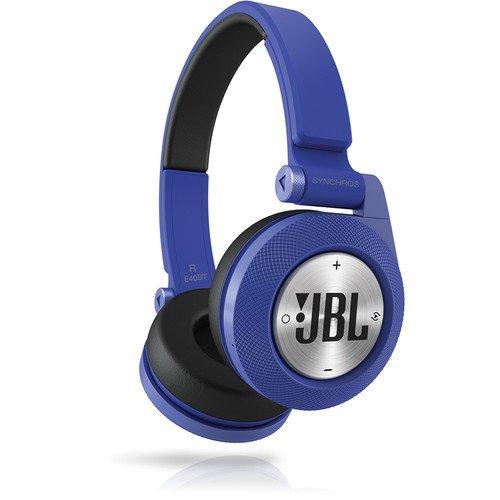 JBL Blue Synchros E40BT Bluetooth On-Ear Headphones